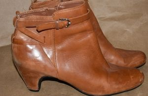 Sam Edelman Maddox Leather Ankle booties